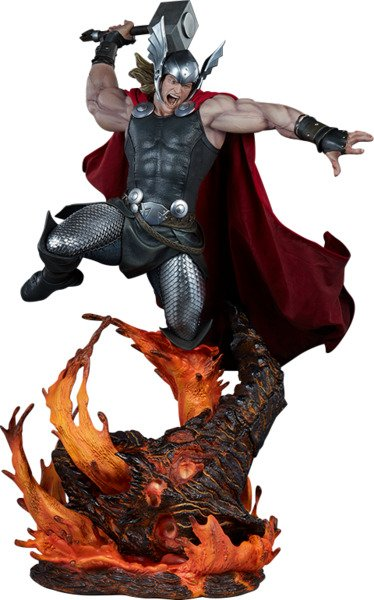 Thor Breaker of Brimstone Statue by Sideshow Collectibles - Marvel Premium Format Figure