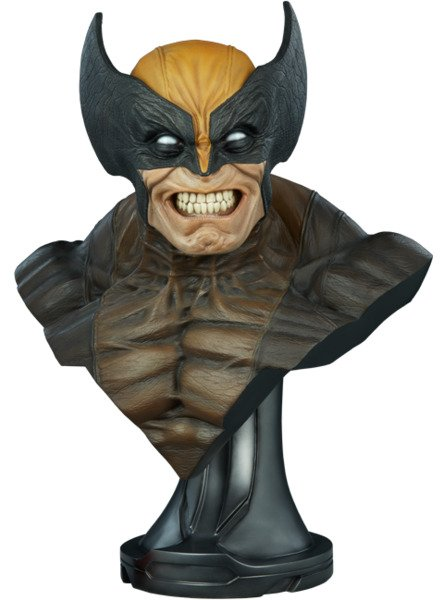 Fiberglass Wolverine Life-Size Bust by Sideshow Collectibles - Marvel Comics