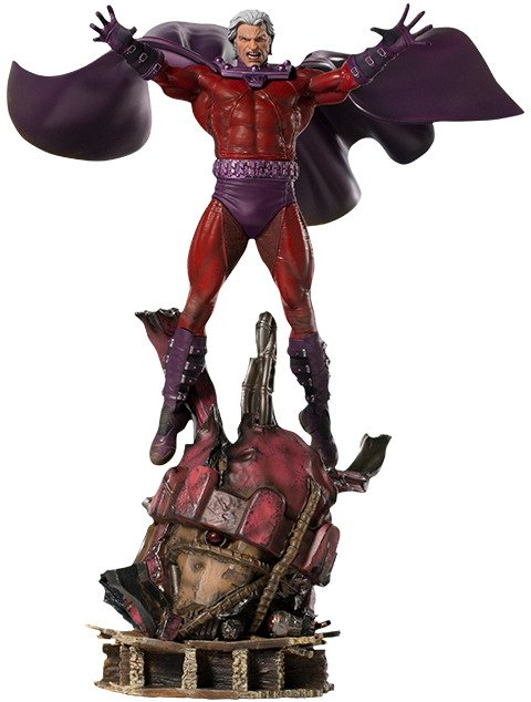 X-Men Magneto 1:10 Scale Statue by Iron Studios - Battle Diorama Series - Marvel Comics