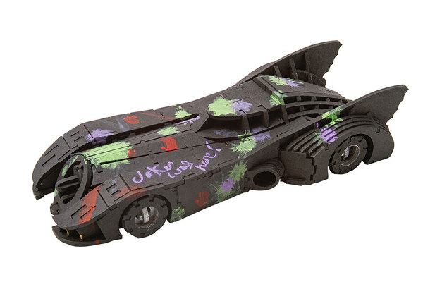 Batmobile Model Kit by Insight Editions Incredibuilds - Batmobile Signature Series Model and Book