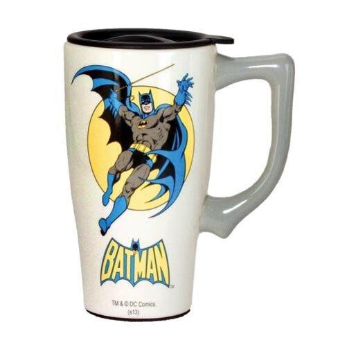 Batman DC Comics Ceramic Travel Mug by Spoontiques