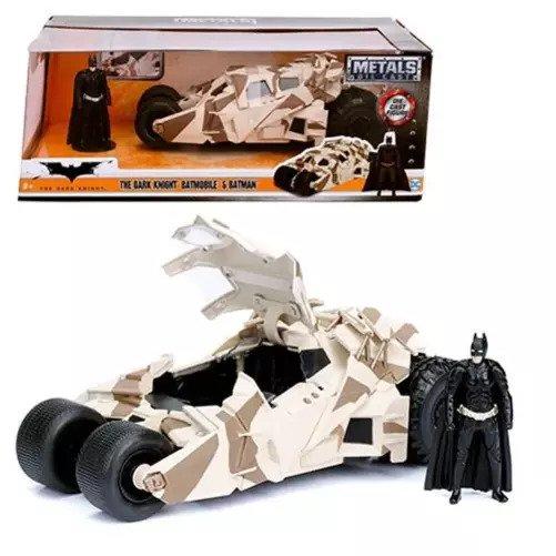Die-Cast Metal 1:24 Scale Tumbler Batmobile with Batman Mini-Figure by Jada Toys