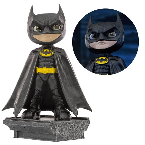 Michael Keaton Batman 1989 Batman MiniCo. Vinyl Figure by Iron Studios