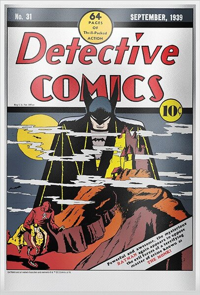 Pure Silver Collectible Detective Comics #31 Replica by New Zealand Mint