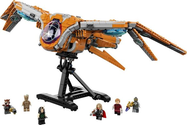 The Guardians of The Galaxy Ship Marvel LEGO 76193
