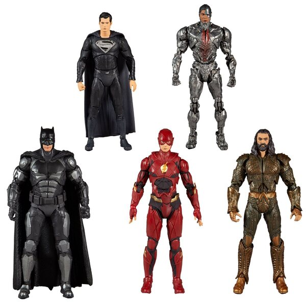 Zack Snyder Justice League 7-Inch Action Figure Case of 6